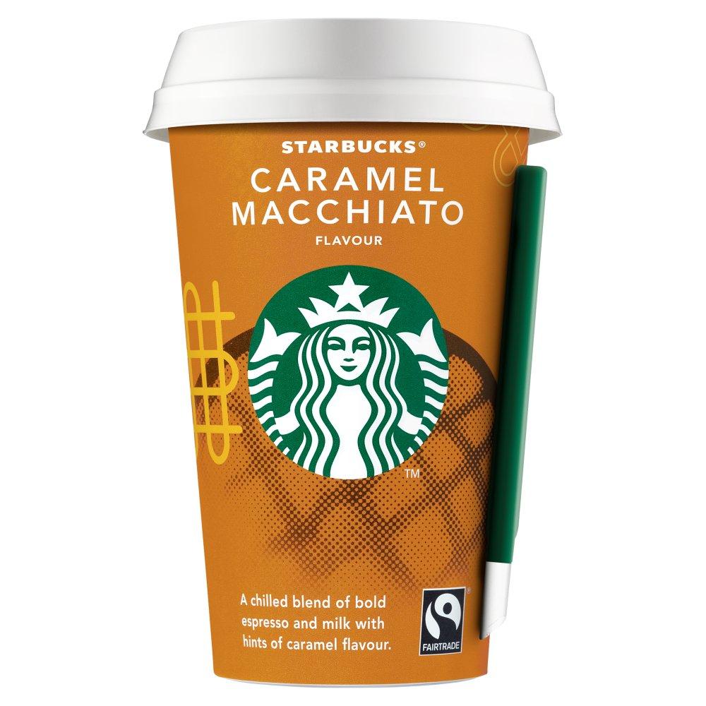 Starbucks Fairtrade Caramel Macchiato Flavour 220ml ...